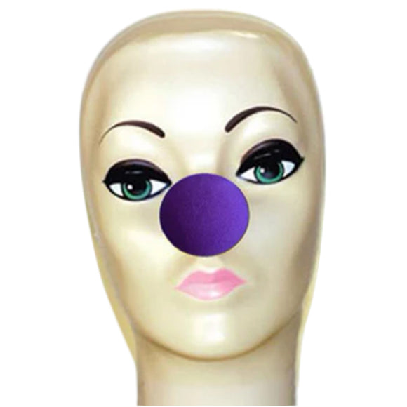 Magic By Gosh Violet Foam Clown Nose (1 3/4