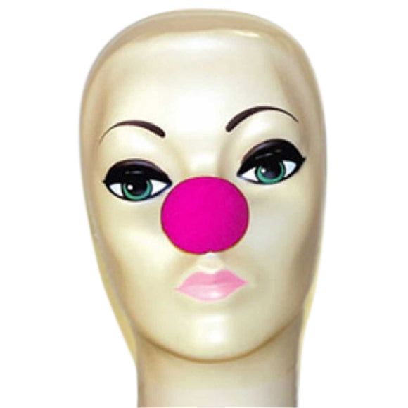 Magic By Gosh Pink Foam Clown Nose (1 3/4