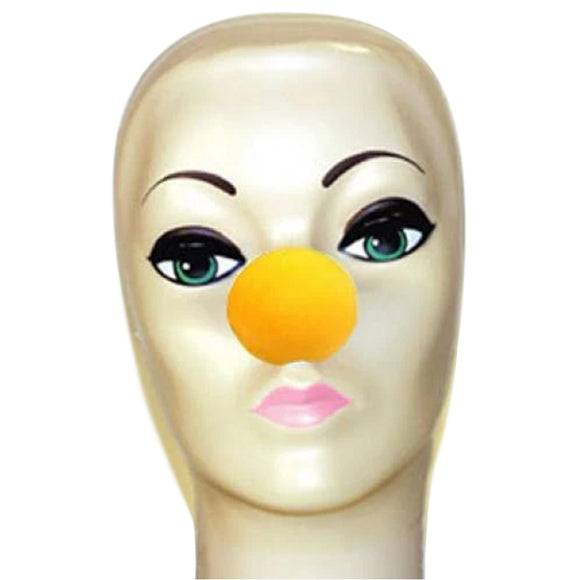 Magic By Gosh Yellow Foam Clown Nose (1 3/4