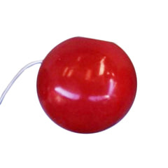 "Red Silicone Clown Nose - Large (2"")"