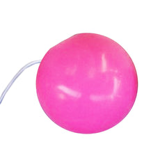 "Pink Silicone Clown Nose - Large (2"")"
