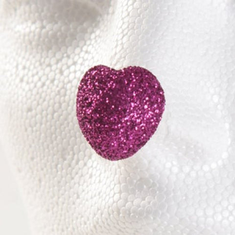 ProKnows Clown Nose Tips - T5 Glitter Heart (Fuchsia)
