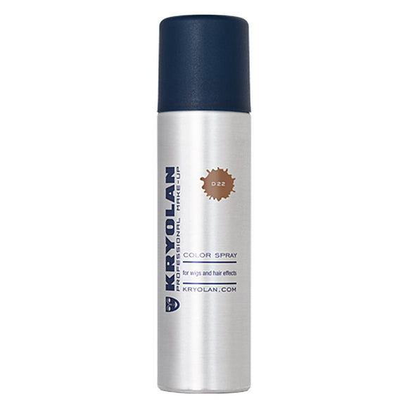 Kryolan Glitter Color Hair Spray - Gold (5 oz/150 ml)