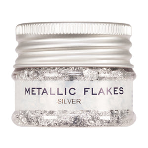 Kryolan Metallic Flakes - Silver (1 gm)