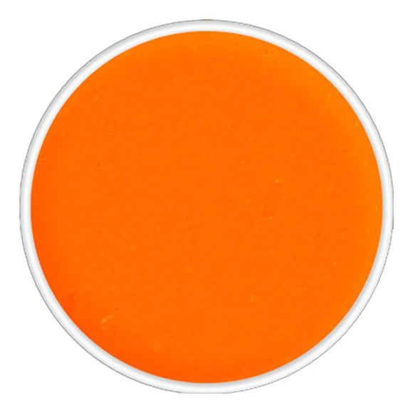 Kryolan Aquacolor Orange Cosmetic Grade UV Dayglow (4 ml)