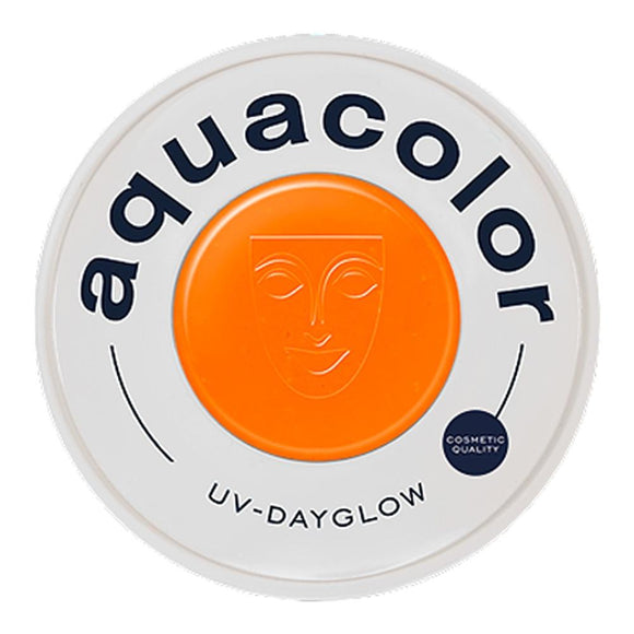 Kryolan Aquacolor Orange Cosmetic Grade UV Dayglow (30 ml)