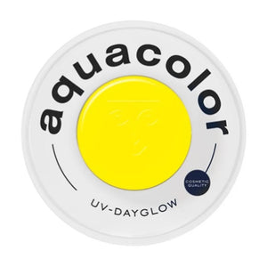 Kryolan Aquacolor Yellow Cosmetic Grade UV Dayglow (30 ml)