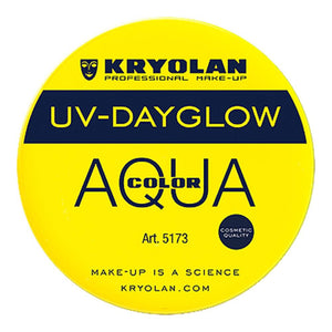 Kryolan Aquacolor Yellow Cosmetic Grade UV Dayglow (55 ml)