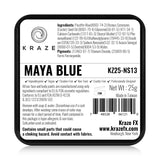 Kraze FX Face & Body Paint - Maya Blue - Non Staining (25 gm)