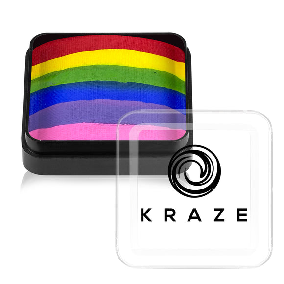 Kraze FX Domed Square Split Cake - Rainbow Roar (25 gm)