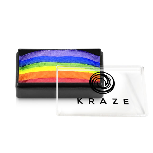 Kraze FX Domed 1 Stroke Cake - Essential Rainbow (25 gm)