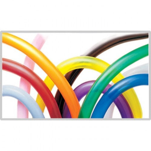 Qualatex 350 Balloons -Traditional Assortment (100/bag)