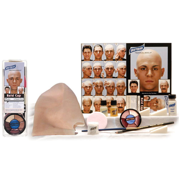 Graftobian Complete Bald Cap Makeup Kits