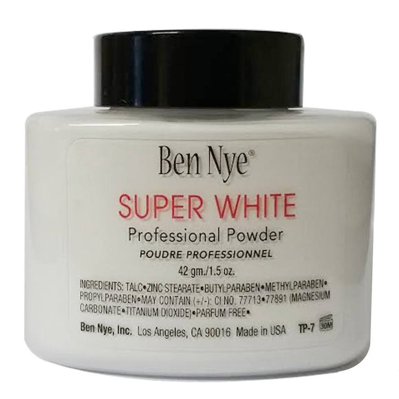 Ben Nye Makeup Setting Powder - Super White TP-7 (1.5 oz)