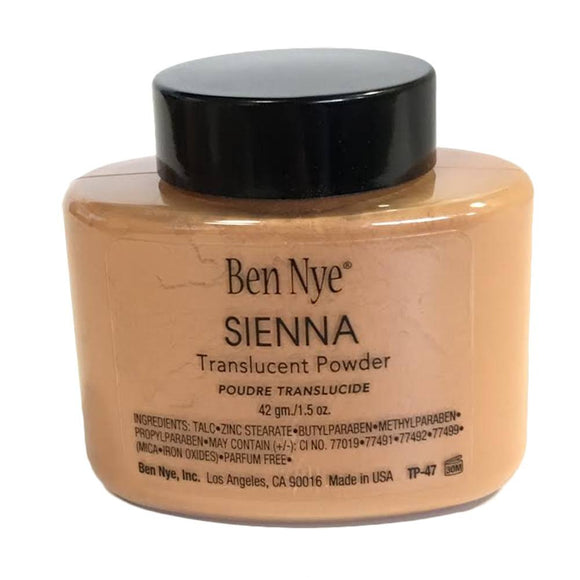 Ben Nye Translucent Powder - Sienna (1.5 oz)
