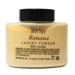 Ben Nye Bella Luxury Powder Banana (Shaker Bottle 1.5 oz)
