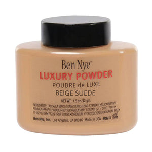 Ben Nye Bella Luxury Powder - Beige Suede (1.5 oz)