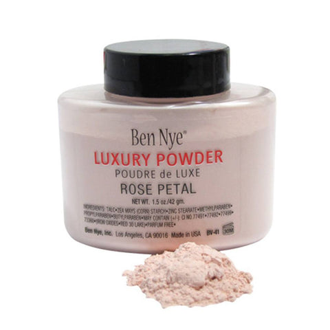 Ben Nye Bella Luxury Powder Rose Petal (Shaker Bottle, 1.5 oz)