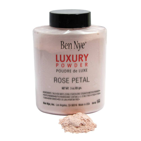 Ben Nye Bella Luxury Powder - Rose Petal (Shaker Bottle, 3 oz)