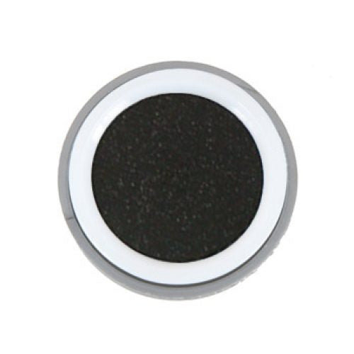 Kryolan Pressed Powder Compact - Glitter Black (0.08 oz/2.5 gm)