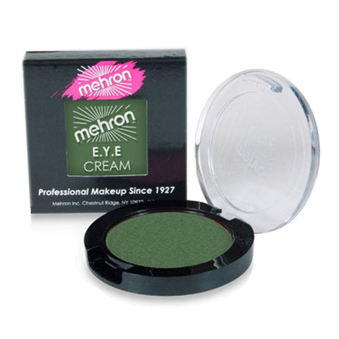 Mehron EYE Cream - Light Chrome Green (0.3 oz)