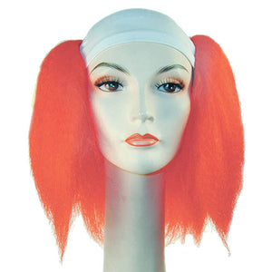 Silly Boy Bald Deluxe Wig - Bright Flame