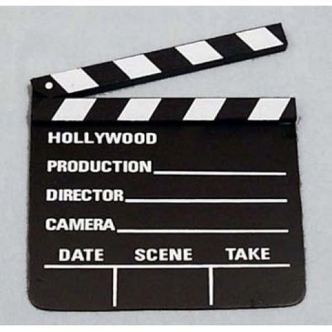 Clap Board (Movie) Lg 10.5X11.5
