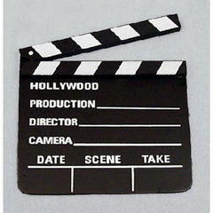 "Clap Board (Movie) Sm 7""x8"""