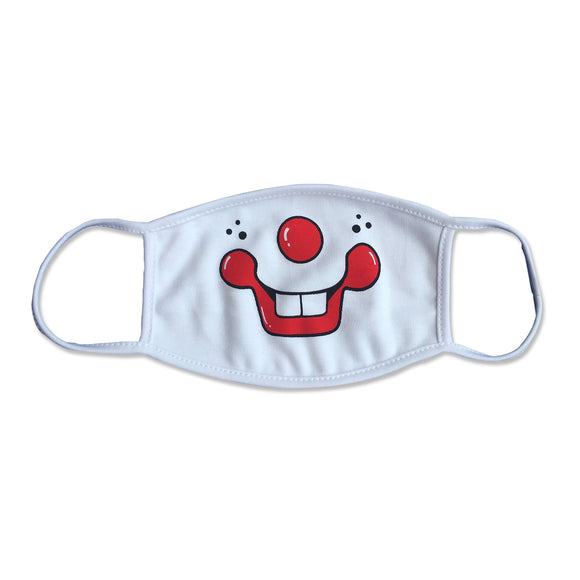 Funny Clown Teeth Physician Mask
