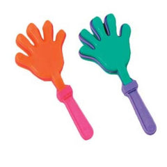 "Clapping Hands Clackers - 4"", Assorted Colors (12/pack)"