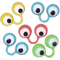 Large Eye Finger Puppets (12/Pack)