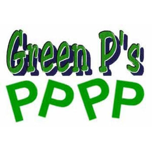 Foam Letters - Green P's (50/bag)
