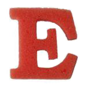 Bubba's Foam Fetti - Red E's (50 Pack)