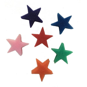 Bubba's Foam Fetti - Assorted Color Stars (50 Pack)