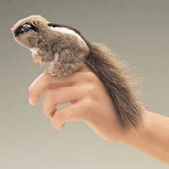 Mini Chipmunk Finger Puppets