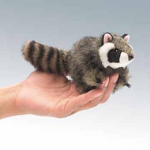 Mini Raccoon Finger Puppets