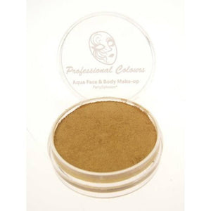 PartyXplosion Aqua Face Paints - Pearl Gold (10 gm)