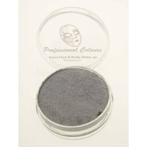 PartyXplosion Aqua Face Paints - Pearl Silver (10 gm)