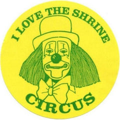 Shrine Circus Stickers