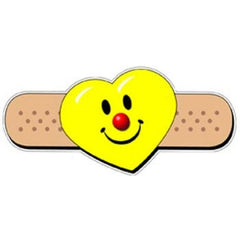 Smiley Heart Band-Aid Stickers