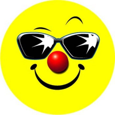Smiley Sunglasses Stickers