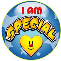 I Am Special Stickers