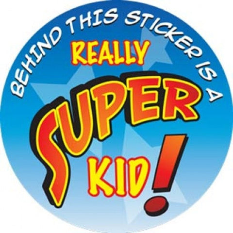 Super Kid Stickers