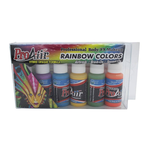 ProAiir Hybrid 6-Color Kit - Rainbow (1 oz)
