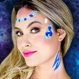 Woochie Water Activated Makeup Stencil Kit - Mermaid