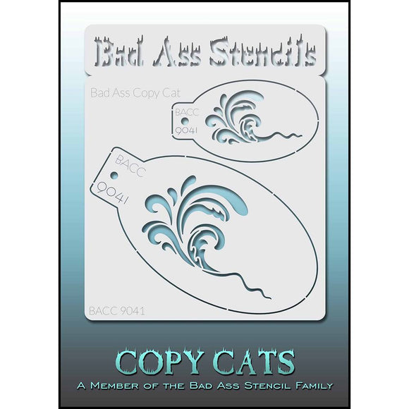 Bad Ass Copy Cat Stencils -  (9041)