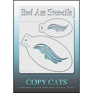 Bad Ass Copy Cat Stencils -  (9044)