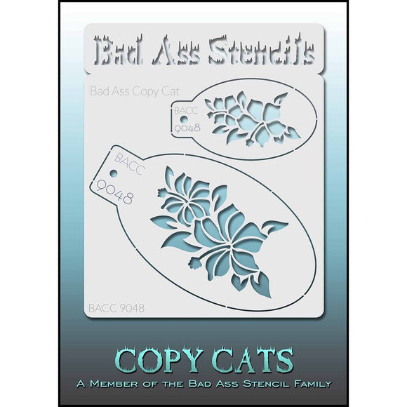 Bad Ass Copy Cat Stencils -  (9048)