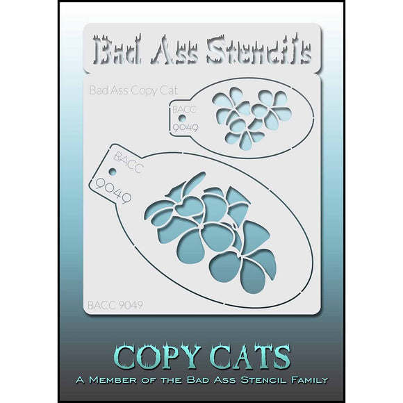 Bad Ass Copy Cat Stencils -  (9049)