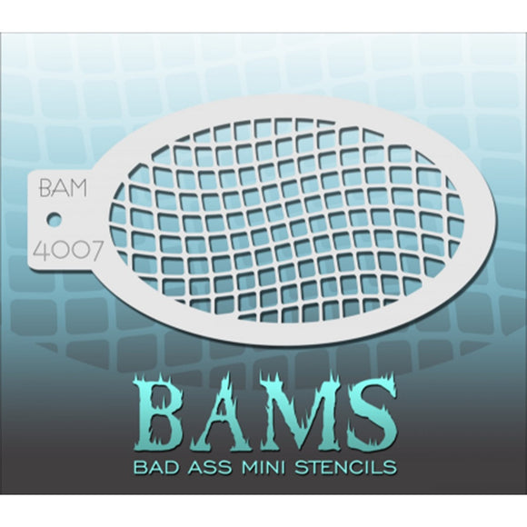 Bad Ass Mini Stencils - Net (BAM 4007)